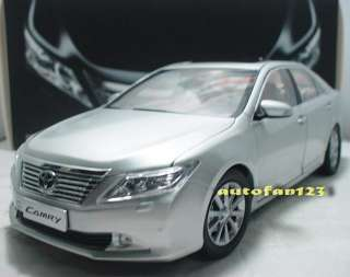 China Toyota Camry XV50 MK7 2012 Silver 1/18 SCALE MODEL