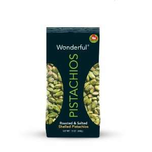 Wonderful Pistachios Roasted and Salted Pistachios (Shelled), 12 Ounce