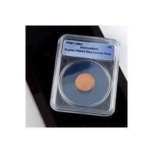 Lincoln Cent   Copper Plated Zinc   Blank Planchet