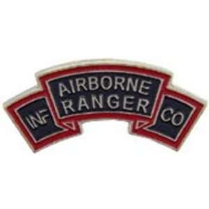 U.S. Army Airborne Ranger Tab Pin 1 Arts, Crafts