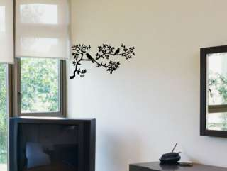 BIRDS ON A BRANCH TREE S Vinyl Wall Decals Stickers