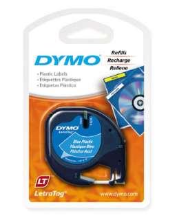 Dymo Letra Tag Ultra BLUE Plastic Labels LetraTag XR XM LT Plus & QX50