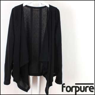 Womens Causal Kimono Style Summer Knit wrap CARDIGAN Sweater Top small
