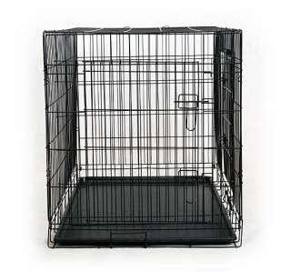 48/42 2/3 Doors Large Folding Dog Pet Cage Crate Kennel High Quality
