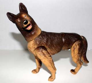 GERMAN SHEPHERD DOG DUKE KENNER VINTAGE 1970s LARGE FIGURE
