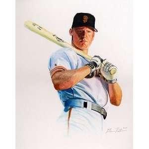 Matt Williams San Francisco Giants Giclee on Canvas