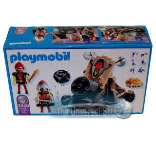 Playmobil 3320 Knights Dragon Attack Cannon