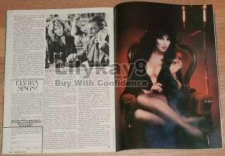 FANGORIA 22 HALLOWEEN III SEASON OF THE WITCH Pink Floyd ELVIRA Ingrid