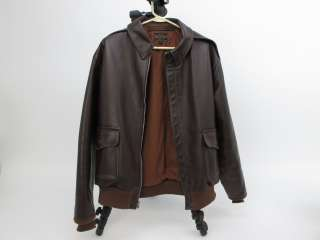 Rough Wear Clothing A 2 WWII Air Force US Army Leather Bomber Jacket