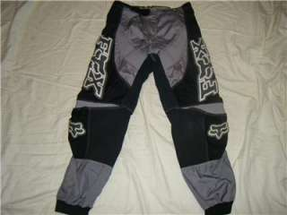 FOX 360 MX MOTOCROSS DIRT BIKE MENS ATV RACING PANTS SZ 32