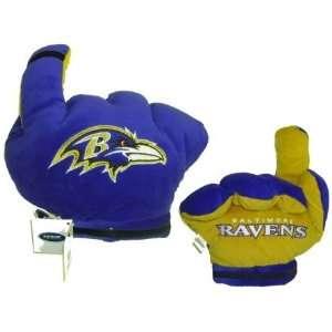 Ravens Officially Licensed Plush Fan Finger