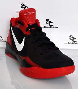 Nike Zoom Hyperdunk 2011 Low black red mens basketball shoes NEW