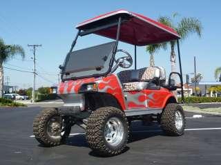 Car DS electric golf cart car 4 passenger seat custom dash 48 volt