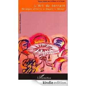 art du terrain  Mélanges offerts à Howard S. Becker (La Librairie