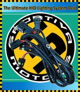 HID Xenon Conversion Kit Relay Wiring Harness 9006/9005