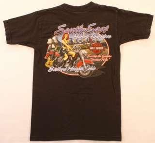 Harley Davidson S T Shirt Black SouthEast Cleveland OH
