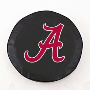 Alabama Crimson Tide Tire Cover Color Black, Size M
