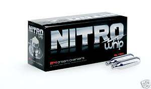72 Whip Cream Chargers Nitrous Oxide N2O NITRO WHIPPED