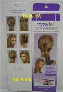 NEW TOPSY TAIL & TOPSYTAIL JR HAIRSTYLING TOOLS Stocking Stuffer