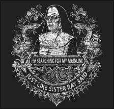 Velvet Underground T Shirt   Sister Ray Tee   Lou Reed   Drug Music T