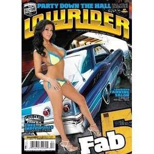 Lowrider Magazine: Fab 5 (February 2010): Lowrdier
