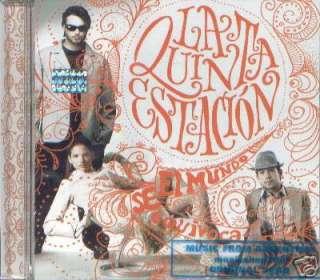 LA 5ª ESTACION, EL MUNDO SE EQUIVOCA. FACTORY SEALED CD. IN SPANISH.