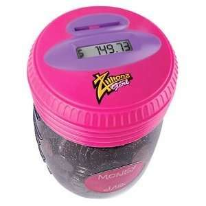 Zillionz Girl Counting Money Jar   Pink Toys & Games