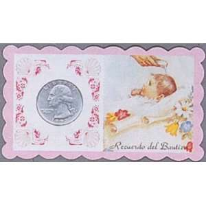 100 Baptisma Remembrances in Spanish   Baby Girl Office