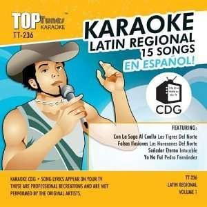 Top Tunes Karaoke TT 236 Latin Pop; Los Tigres Del Norte