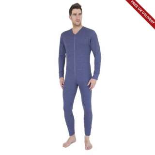 Free PnP) Mens Thermal Underwear All In One Union Suit
