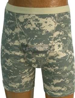 Mens Military Camouflage Boxer Briefs Underwear