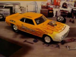 Hot Wheels 69 Camaro Pro Street 1/64 Scale Limited Edt