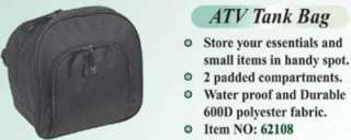 NEW WATERPROOF ATV GAS TANK PACK BAG STORAGE QUAD BAG
