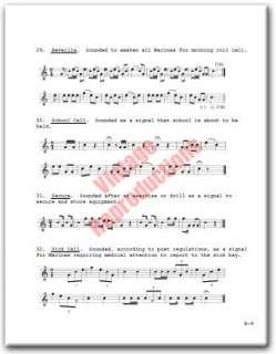 United States Marine Corps Band Manual ~ USMC Book on CD