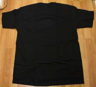 SUPREME BOX LOGO KAWS TEE SHIRT BLACK WHITE NEW SZ XL X Large