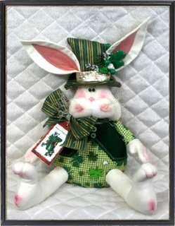 Primitive St. Patricks Day Bunny ♣♣ PATTERN #67