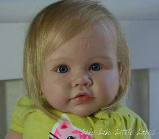 Life Like OOAK Reborn baby Toddler girl Daimy by reborn artist Kristin