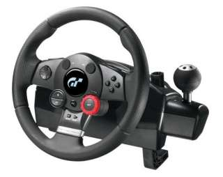 Logitech Driving Force GT Racing Wheel Pedals PS2/ PS3 00097855051851
