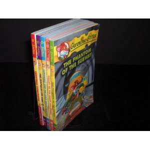 Geronimo Stilton 5 Book Set: Valley of the Giant Skeletons