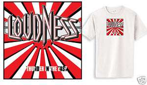 Loudness 80s hair band heavy metal rock small 3XL