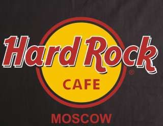 new hard rock cafe t shirt moscow russia
