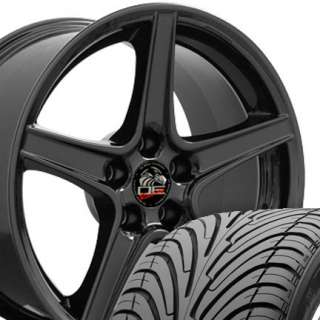 18 Rim Fits Mustang® Saleen Wheels Black 9 / 10