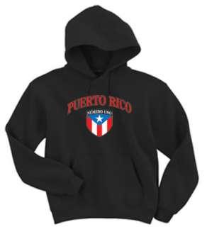 Puerto Rico Rican Flag shirt Hoodie Hooded Sweatshirt
