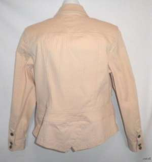 NWOT COLDWATER CREEK BEIGE SHIRT JACKET, SIZE 12