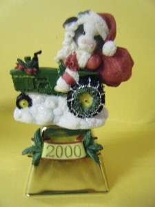 JOHN DEERE MARYS MOO MOOS COW BELL DEERE SANTA 725773 CHRISTMAS