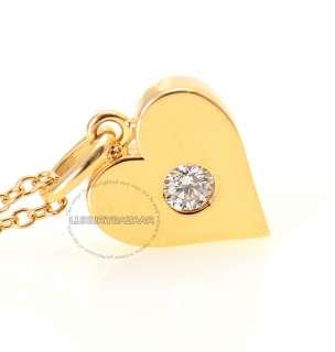 on Fire 18K Yellow Gold & Diamond Full House Heart Pendant