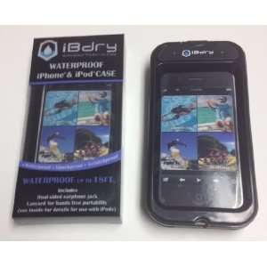 Black iBdry Waterproof iPhone Hard Case  Players