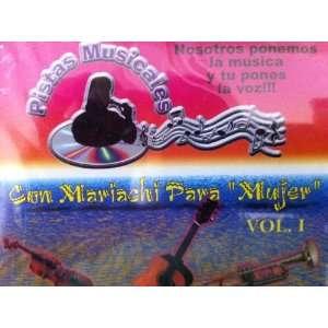 Pistas Musicales: con mariachi para mujer: Music