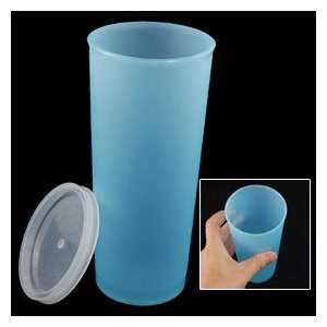 Baby Blue Plastic Airtight Water Bottle Cup 450ml
