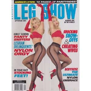 September 2001 Leg Show Magazine: Dian Hanson: Books